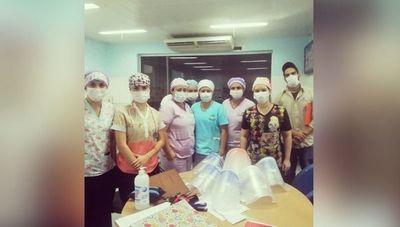 Esta organización produce y dona mascarillas a hospitales del país (500 mascarillas entregadas)