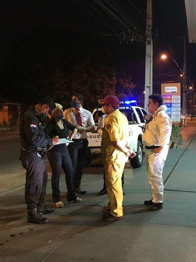 Fiscala ordenó a bomberos suspender desinfección de calles en Lambaré
