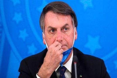 Bolsonaro publica y borra video sobre falsa escasez