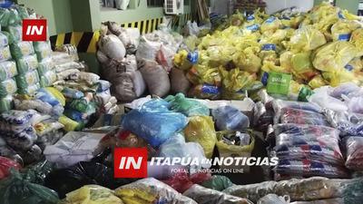 PREPARAN MÁS DE 1.000 KITS DE ALIMENTOS EN MA. AUXILIADORA