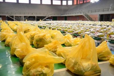 Comuna está entregando INCOMPLETO los kits de alimentos destinados a familias POBRES