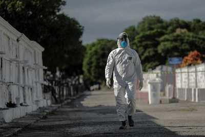 Covid-19: Crece la preocupación en Brasil por el aumento de muertes, que ya suman 240