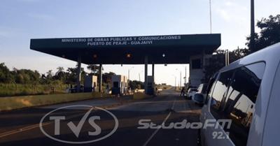 Poco movimiento en rutas: reportan caída del 90 % de recaudación en peajes