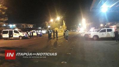 FISCALÍA ENDURECE BLOQUEO SANITARIO EN MARÍA AUXILIADORA