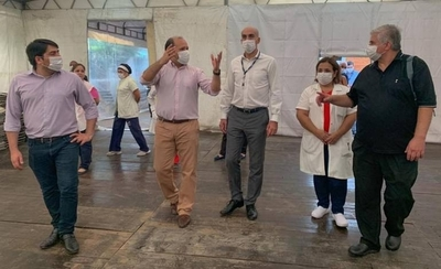 HOY / Salud reporta tres recuperados mientras en Boquerón y Alto Paraná aumentan casos de COVID-19
