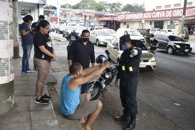 Fiscalía y Fuerzas Armadas efectúan hoy retenes en cinco zonas de Gran Asunción