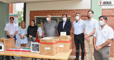 Empresa Trociuk entregó importante donación al Consejo Regional de Salud