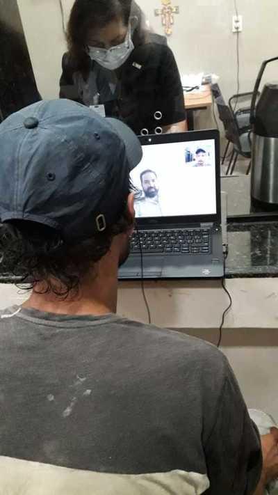 Implementan videollamadas con defensores públicos en Penitenciarías