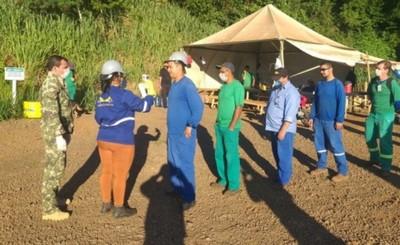 Permiso especial para obreros brasileños del Puente Integración