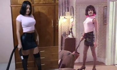 Laurys Diva imitó en un video a Freddie Mercury