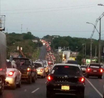 Masivos viajes al interior pero MOPC dice que tráfico rutero bajó un 80%