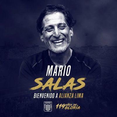 Mario Salas regresa a Perú para dirigir Alianza Lima