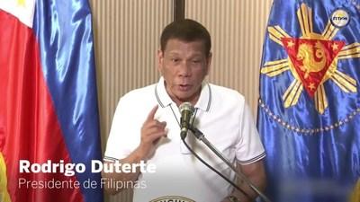 Presidente filipino Rodrigo Duterte ordena matar a ciudadanos que desafían cuarentena por coronavirus