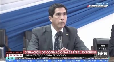 HOY / Connacionales varados en CDE ingresaran al país para realizar una cuarentena estricta, mencionaba Federico González, ministro asesor de Asuntos Internacionales de la Presidencia