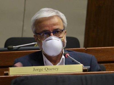 """""""Si transgredió el decreto debe hacerse cargo"""", dijo Querey por senadora con Covid-19"""