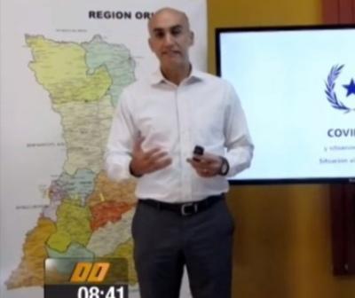 Julio Mazzoleni: ''Si no respetamos la cuarentena esto se podría desbordar''