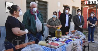 """""""Almorzando con la familia"""": Padres de alumnos de escuelas recibirán kits de víveres en Itapúa"""
