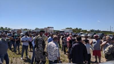 Ñu Guasu parecía vía de evacuación de zona de desastre