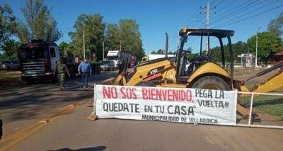 Villarrica bloquea accesos ante llegada masiva de asuncenos