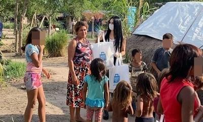 Norita Rodríguez y una donación para los más necesitados