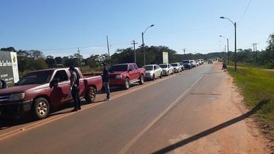 Centenares de vehículos retenidos en controles por no respetar cuarentena