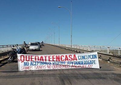 Nadie entra a Concepción