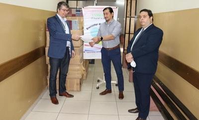 Fiscalia General realiza donación al Hospital Distrital de Lambare