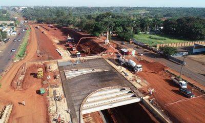 Intensifican cargamento de hormigón en  puentes del multiviaducto de C. del Este – Diario TNPRESS