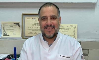HOY / Carlos Morínigo, médico neumólogo, sobre la forma en que se está disipando este virus, nunca antes visto
