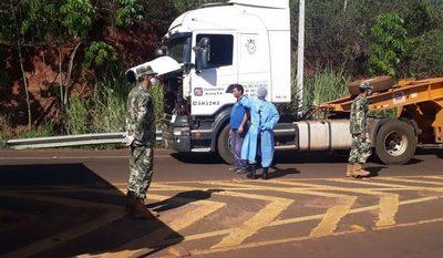 Cierre de las fronteras departamentales están sujetas a disponibilidad de policías y militares – Diario TNPRESS