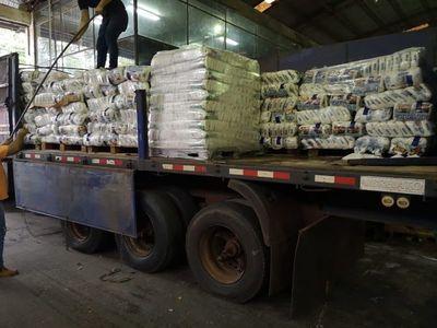 Alimentos incautados serán donados en el Este