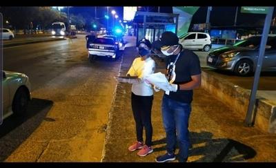HOY / Tercera noche de controles en Luque: 150 vehículos retenidos
