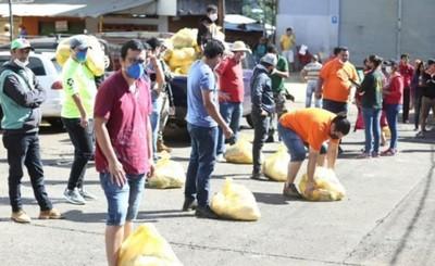 """""""Cacerolazo"""" surte efecto y San Rafael ya recibió kits de alimentos"""