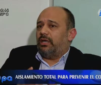 Julio Rolón: ''El esfuerzo de los médicos es inmeso, respetemos la cuarentena''