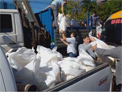 Entregan 10.000 kits de alimentos para salvar apremiante necesidad en Caaguazú
