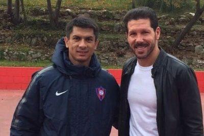 'Pude compartir dos semanas con Simeone', recuerda Florentín