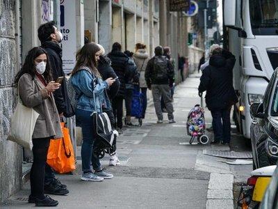 Covid-19: Italia registra 681 fallecidos en 24 horas