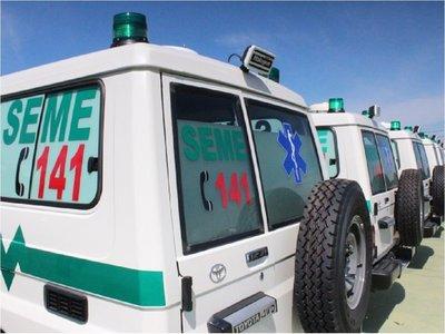 Covid-19: Retienen a ambulancia que trasladaba a varias personas