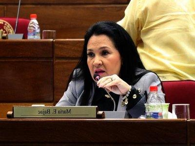 Presidente del Senado exige a Bajac que renuncie a su banca o impulsará su destitución