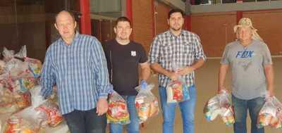 Particulares e iglesias se unen para ayudar en Loma Plata