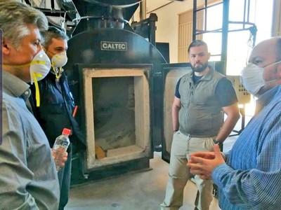 COVID-19: Horno pirolítico de la Senad tiene capacidad de cremar 6 cuerpos por día