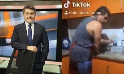 """Luis Bareiro también actúa de """"Esperancita"""""""