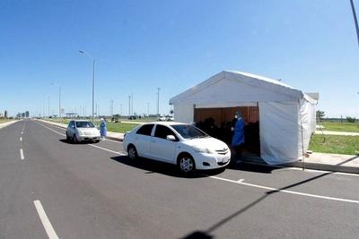 COVID-19 Toma de muestras exprés continúa en Costanera de Asunción