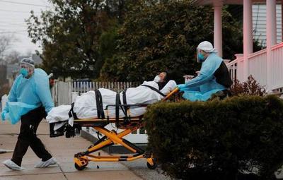 Covid-19: Más de 1.200 muertes registró EE.UU. en un solo día