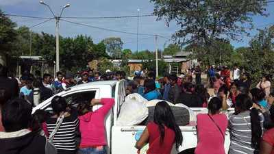 Comunidad Ayorea de Filadelfia retuvo por varias horas a funcionarios de la Gobernación