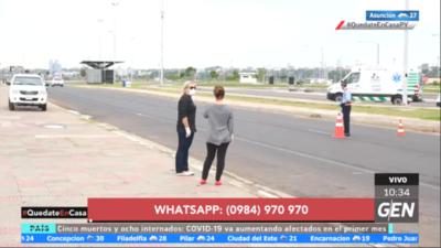 HOY / Control policial, militar y fiscal en la zona de Costanera