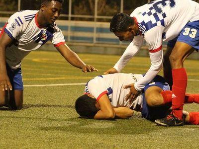 Alexander Moreno y un gol que no festejó