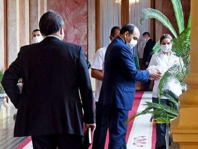 Recrudece contol sanitario en Palacio