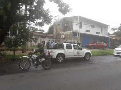 Empresario disparó contra su familia en Fernando de la Mora