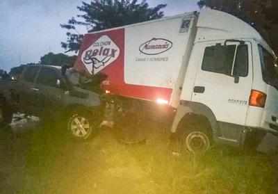 Accidente de tránsito en Vallemí